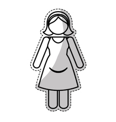 Mother with child icon image vector
