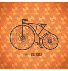 Old bike vector