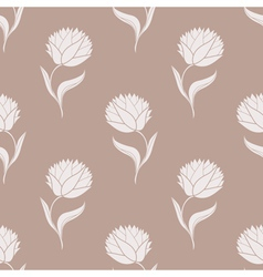 simple brown pattern vector image