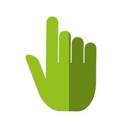 Hand human pointer index vector