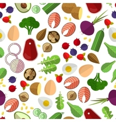 Healthy eating pattern vector image