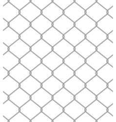 chain fence Seamless pattern vector image