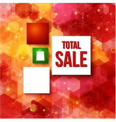 Christmas sale layout with place for your vector
