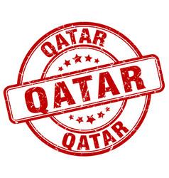 Qatar stamp vector