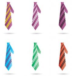necktie vector image