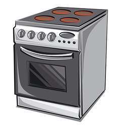 electric cooker vector image