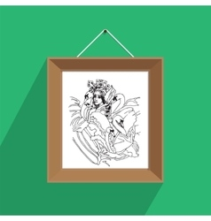 Picture frame arts vector