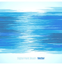 Abstract digital paint background blue vector