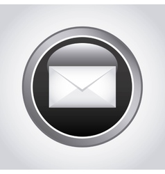 Mail app icon design vector