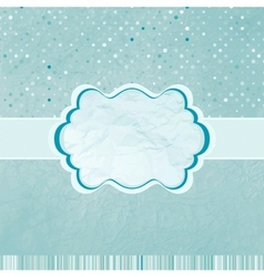 Retro Polka Dots Background vector image