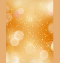 Abstract bokeh blurry light dot autumn fall vector