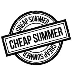 Cheap summer rubber stamp vector