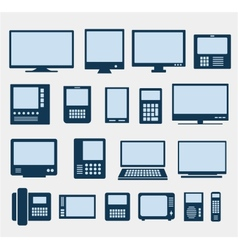 computers vector image