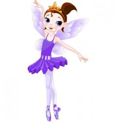 fairy ballerinas vector image vector image