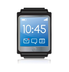 Smartwatch vector image
