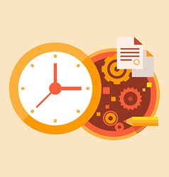 Time business and office work vector