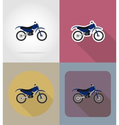 Transport flat icons 66 vector