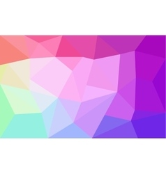 Rainbow colors triangular pattern vector