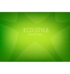 Abstract green eco arrows background vector