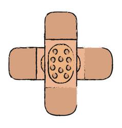 Adhesive bandage icon image vector