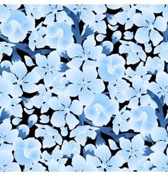 Graphic sakura pattern vector