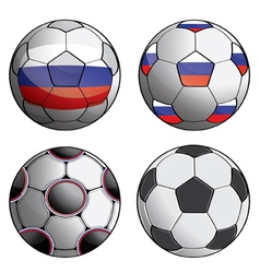 Russia football 1 vector