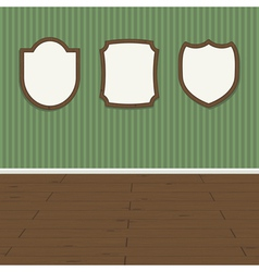 wall plaques vector image vector image