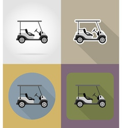 transport flat icons 67 vector image