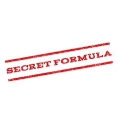 Secret formula watermark stamp vector