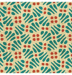 Abstract textile print vector