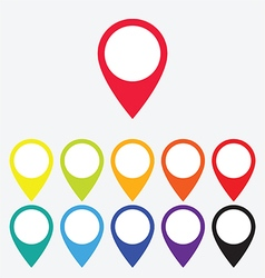 Color map pointer vector