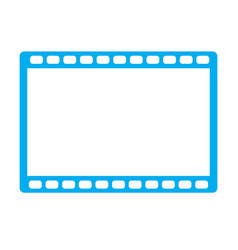 Movie icon on white background movie icon sign vector