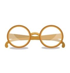 Reading glasses design vector