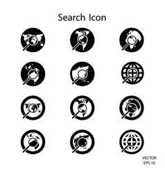 Search icon credit nasa vector