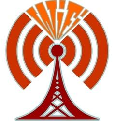 Wi fi wireless network symbol vector
