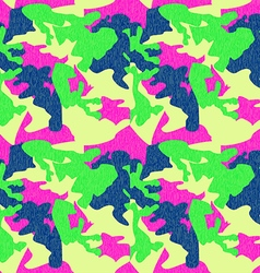 Camouflage pattern background seamless clothing vector