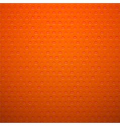 Red metal or plastic texture with holes vector image vector image
