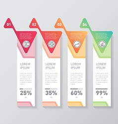 Website layout design template Set of banners with vector image