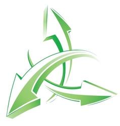 Arrows 3d web cursors vector image vector image