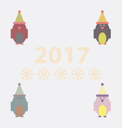 Collection of penguin penguin vector
