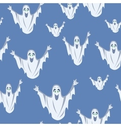 Ghost Seamless Background vector image vector image