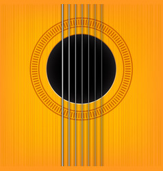 guitar sound hole background vector image vector image