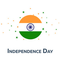 Independence day of india patriotic banner vector