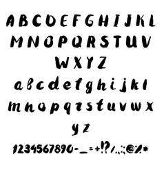 Set of drawing letters of the alphabet vector