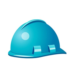 Icon safety helmet vector