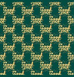 Good luck seamless pattern farewell vector