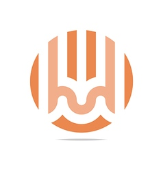 Bussines icon symbol design circle vector