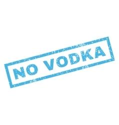 No vodka rubber stamp vector
