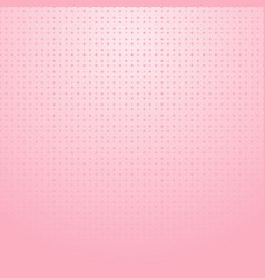 pink halftone with dots pattern on pink gradient vector image vector image