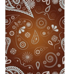 Ornament for seamless background vector